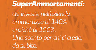 Super ammortamento 140% come funziona, vantaggi beneficiari
